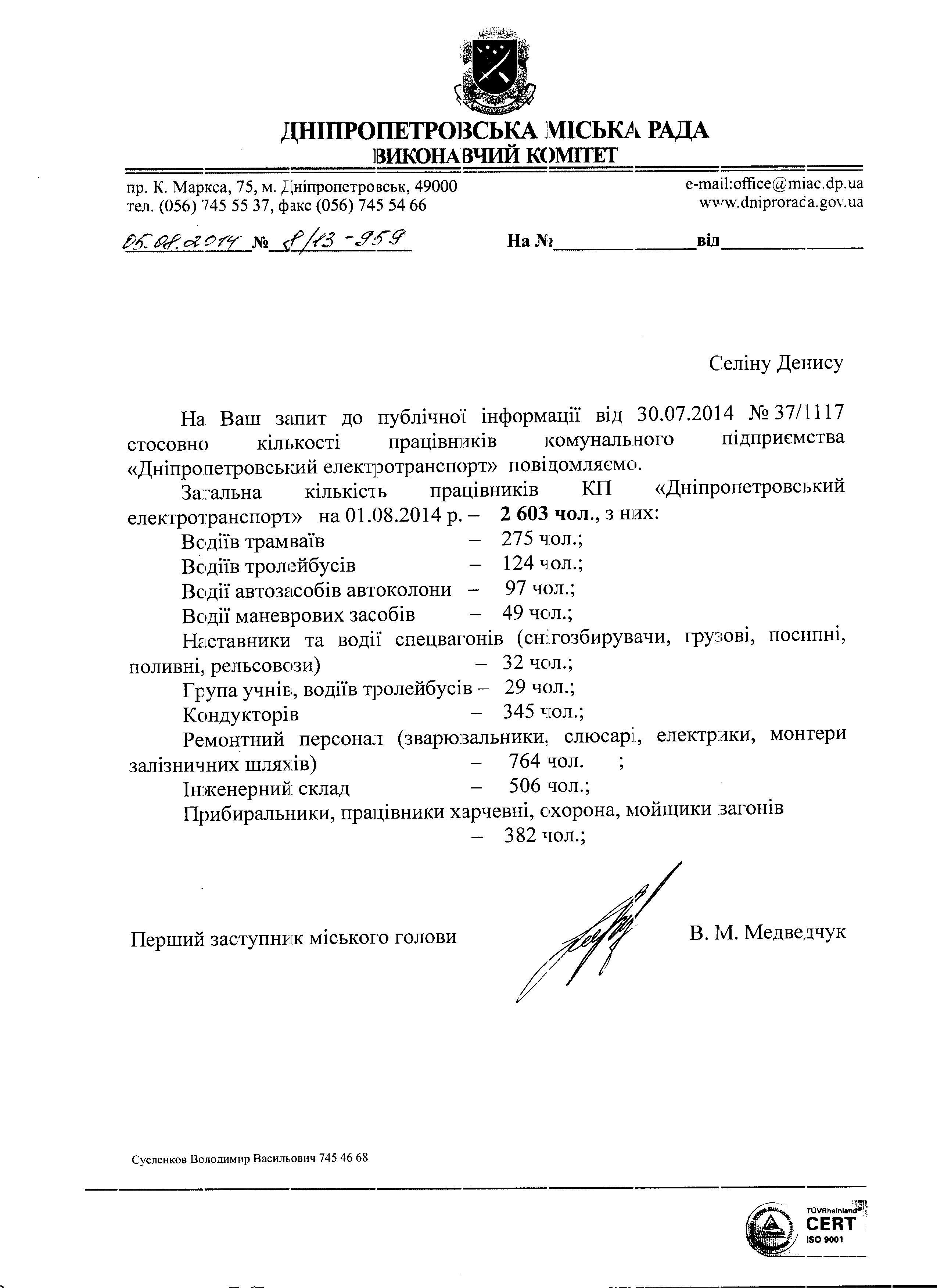 Про Дніпропетровський міський електротранспорт: скільки і хто там працює?